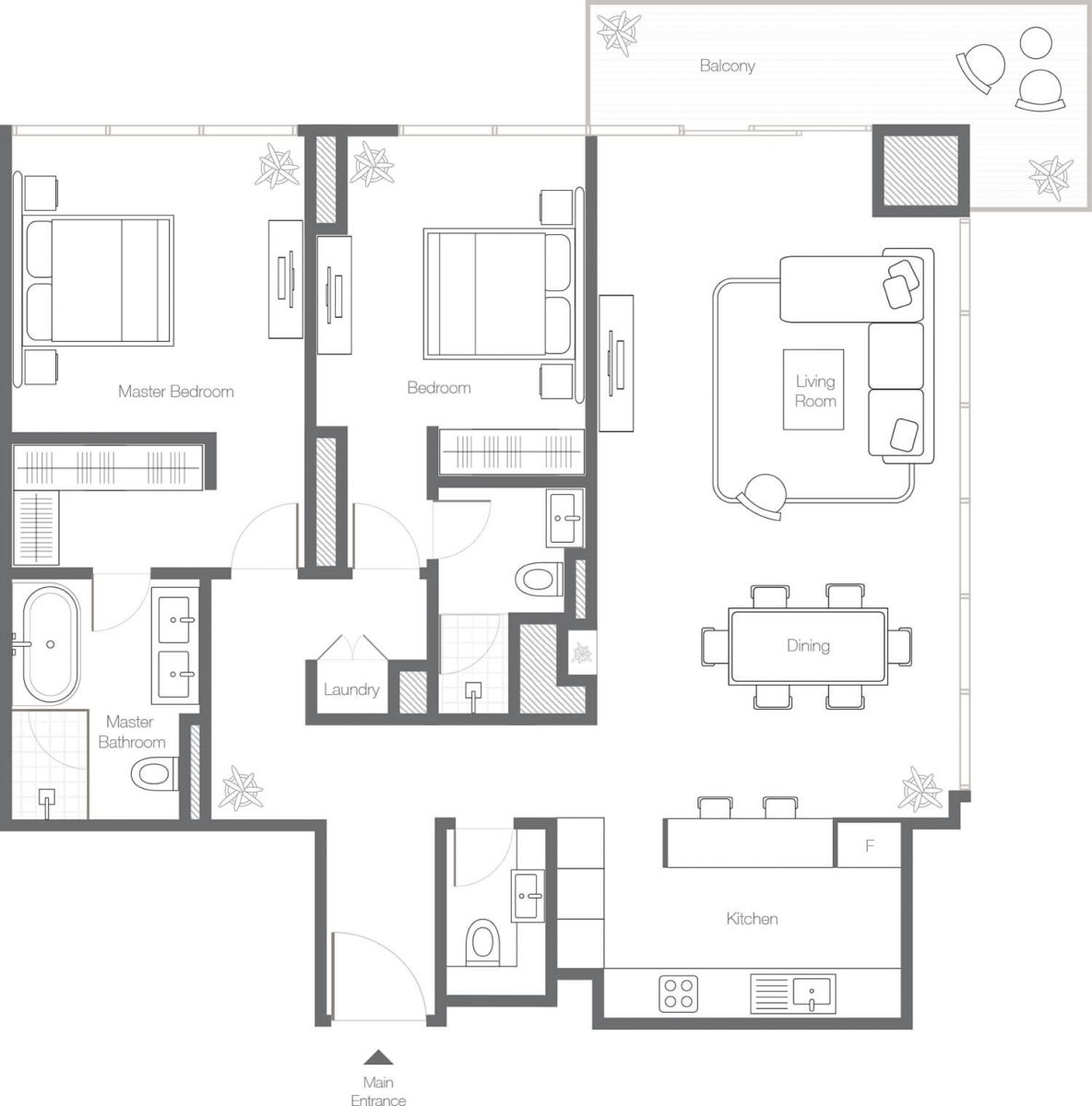 2 Bedroom Apartment - Type 2A.jpg