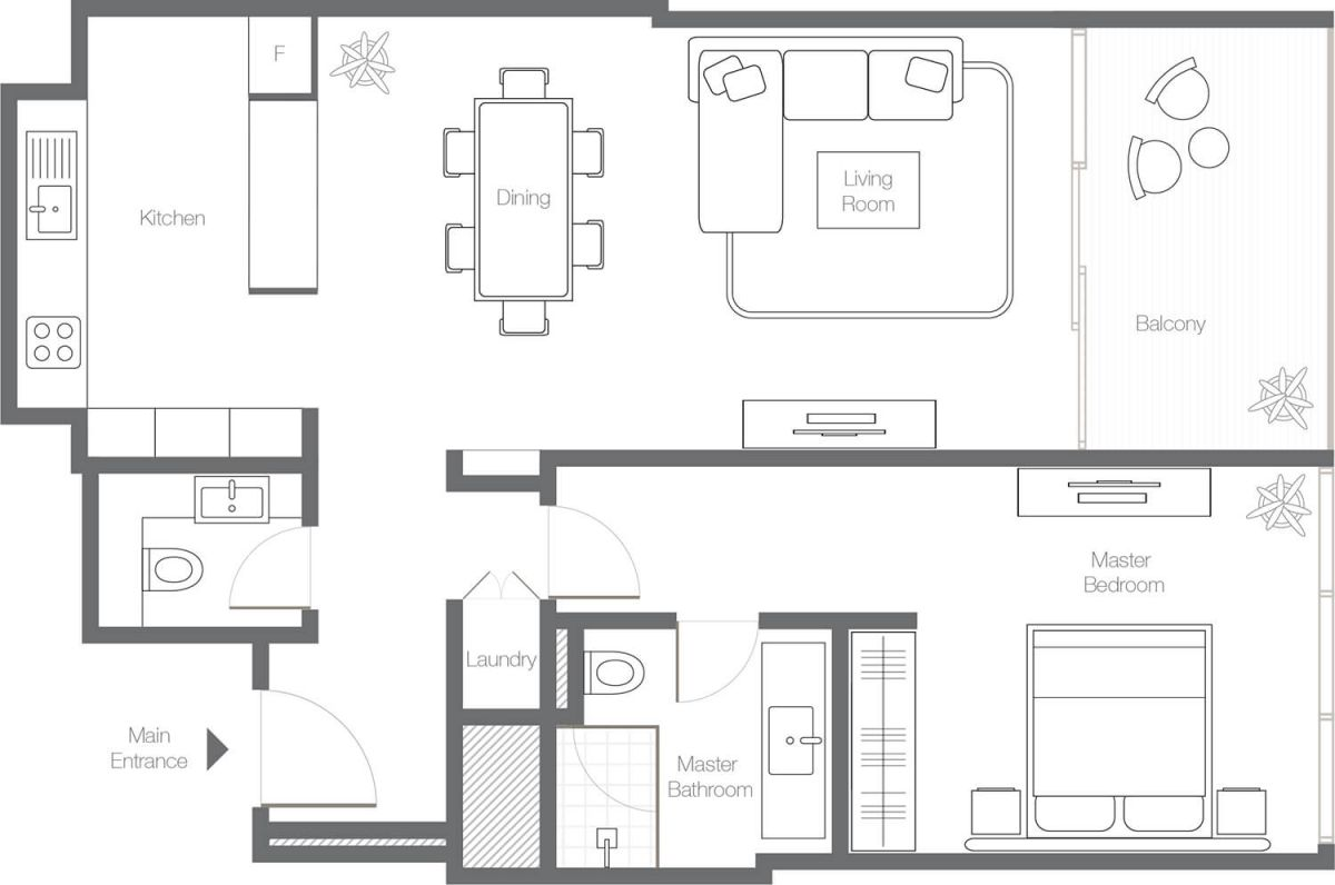 1 Bedroom Apartment - Type 1B.jpg