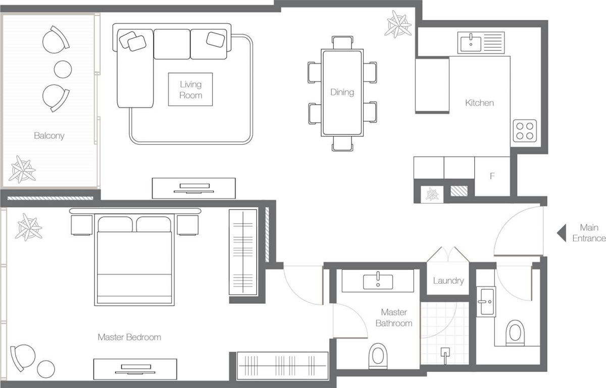 1 Bedroom Apartment - Type 1A.jpg